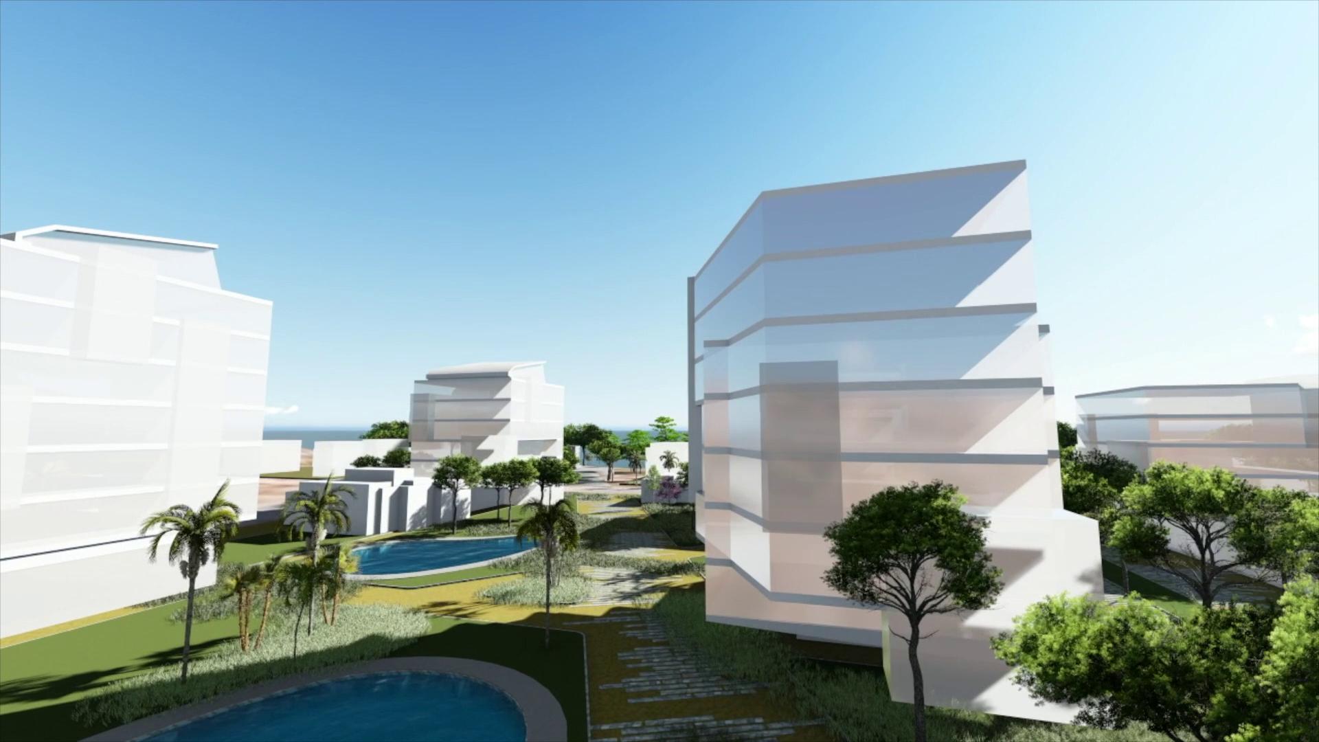 Nowe osiedle apartamentów przy plaży
