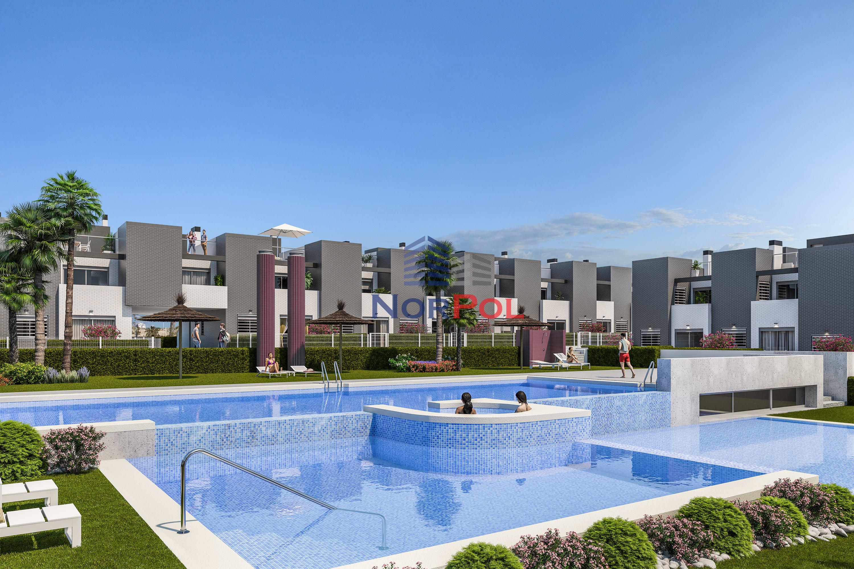 Na sprzedaż nowe bungalowy w Aguas Nuevas.